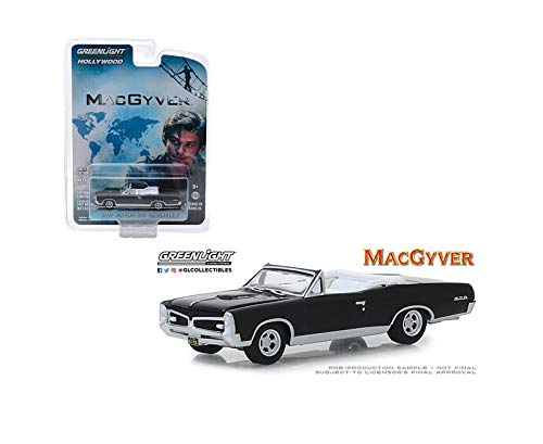 1:64 Hollywood Series 24 - MACGYVER (2016-CURRENT TV Series) - 1967 Pontiac GTO Convertible (Black) 44840-F by ()
