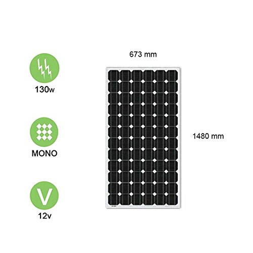 Solarpanel 130W-12V Monokristallines–Victron Energy