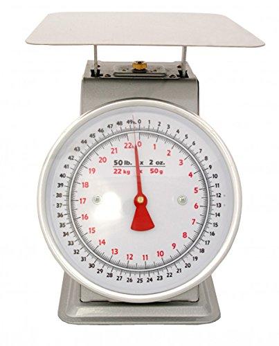 Zenport Accuzen AZD05 Platform Mechanical Dial Scale, 5-Pound
