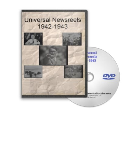 War Bonds 1942 - News of the Day 1942-1943 - Universal Newsreels Including Satire on Hitler and the Naxis, Roosevelt Declares the End to Hiter, Russia Beats Back the Nazis, 9 Billion Bond Drve Is Kicked Off, Un At War, Air, Sea and Land Battles and Much More