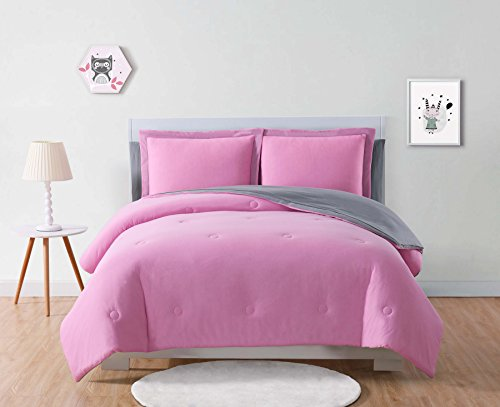 Pink Bed Bag - Laura Hart Kids BIB2399PGFU-00 Jersey Bed in a Bag, Full, Pink