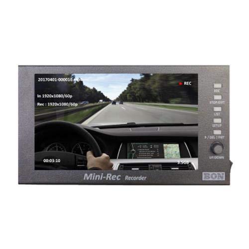 Bon Monitors ミニレック 7インチ フルHD LEDレコーダー/モニター 1024x600   B07RMN831Y