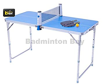 Exceptionnel Abroz Mini Table Tennis Ping Pong Table For Kids And Family Outdoor Or  Indoor Small Spaces