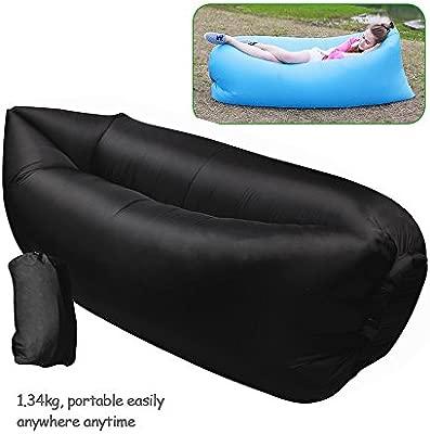 ZD71 sofá hinchable aire exterior Couch muebles portátil nailon ...