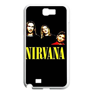 Samsung Galaxy Note 2 N7100 2D Customized Phone Back Case with Nirvana Image