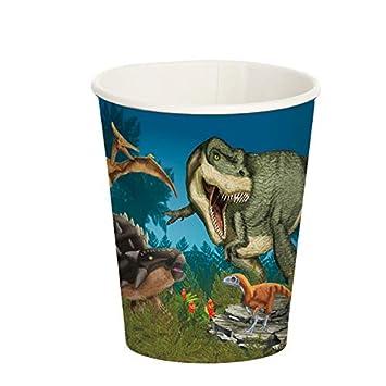 Neu 2019: 8 Vasos de Fiesta de Dinosaurio y T-Rex para ...