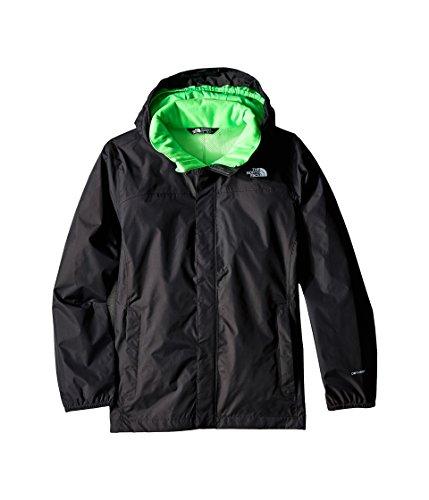 The North Face Kids Boys Resolve Reflective Jacket (Little Big Kids), Asphalt Grey SM (7-8
