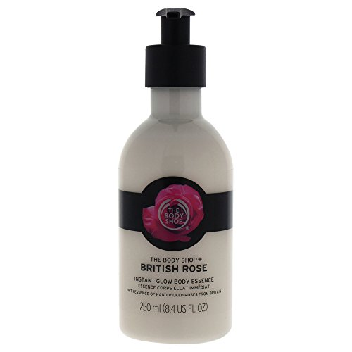 The Body Shop British Rose Instant Glow Body Essence Lotion,