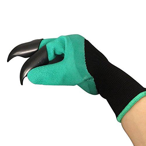 JOYTOUR Garden Gloves Thorn Proof Digging Planting With  ...