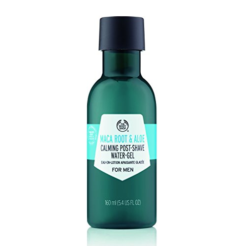 The Body Shop Maca Root & Aloe Post-Shave Water-Gel For Men, 5.4 Fl Oz (Vegan) ()
