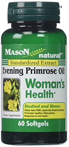 Mason Vitamins Evening Primrose Oil Woman's Health Softgels, 60 Count Oil 60 Tablets