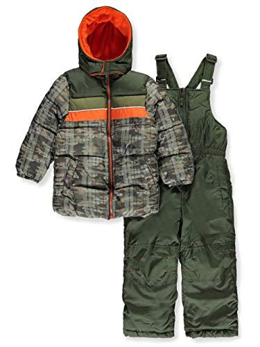 0c00123346bc iXtreme Boys Camo Print Snowsuit W 2fer Vestee Detail   Snow Wear ...