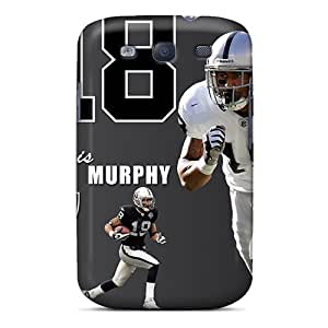 Samsung Galaxy S3 IOK15479PUYh Allow Personal Design Colorful Oakland Raiders Skin Shockproof Hard Cell-phone Case -PhilHolmes