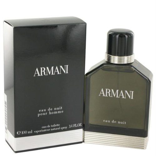 ARMANI EAU DE NUIT by Giorgio Armani EDT SPRAY 3.4 OZ