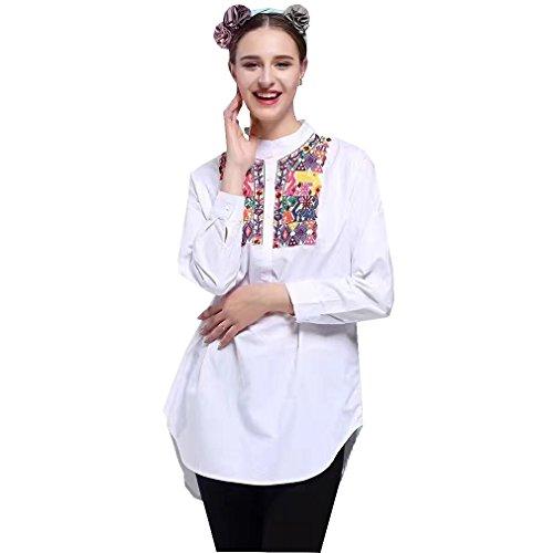ALICE-X&S - Camisas - con botones - para mujer blanco