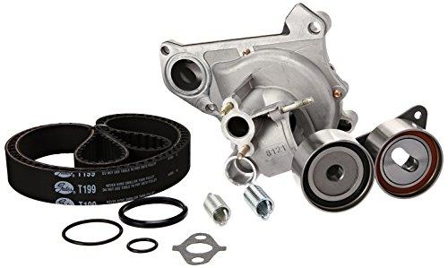 Gates TCKWP199BH Engine Timing Belt Kit with Water Pump (Camry 2001 Timing Belt)