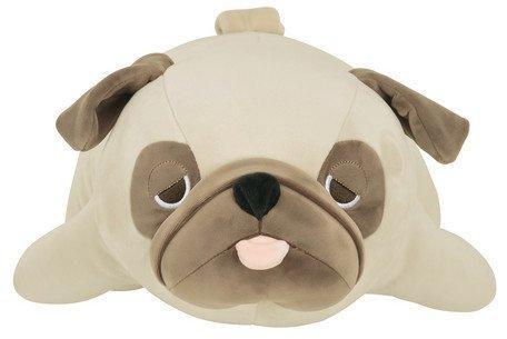 LivHeart Nemu Nemu Animals Pug ''Hana'' Body Pillow (L) 48768-32 from Japan
