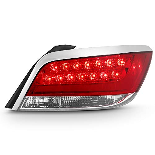 ACANII - For 2010 2011 2012 2013 Buick LaCrosse LED Tail Light Brake Lamp Replacement Right Passenger Side Taillight ()