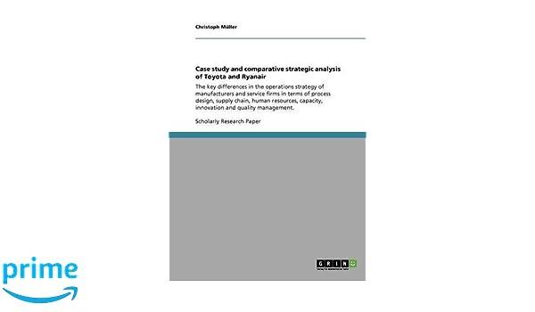 strategic management case study toyota