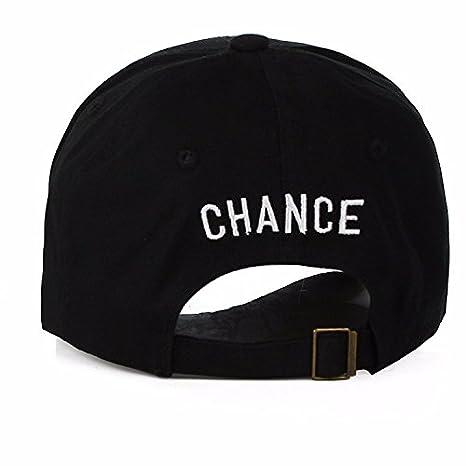 ... ZZURCCA Number 3 Baseball Cap Embroidered Adjustable Chance The Rapper  Hip Hop Hats Baseball Caps 76d90e50ac3c