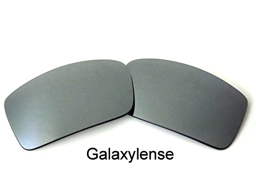 Galaxy Replacement Lenses For Oakley Gascan Small Polarized Titanium Color (clear, - Titanium Lens Clear Oakley