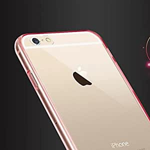 ZL Ultra-Thin Acrylic TPU Soft Case for iPhone 6 (Assorted Colors) , White