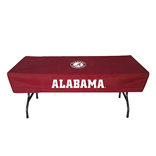 Rivalry Sports Team Logo Design Outdoor Travel Tailgating Alabama 6 Foot Table Cover by Rivalry