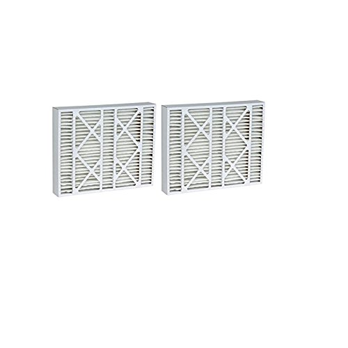 Rodgers Furnace Filters White (Filters Fast Compatible Replacement for White Rodgers Air Filter F825-0548 2-Pack MERV 13 16