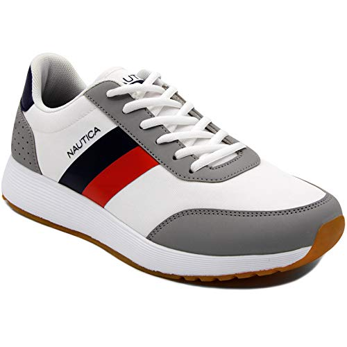 Nautica Men's Casual Lace-Up Fashion Sneakers Oxford for sale  Delivered anywhere in USA