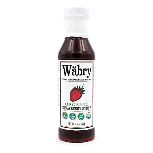- Wäbry Organic Syrup 14.9 oz (Strawberry)