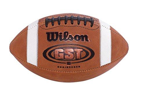 Wilson WTF1321B GST Junior/Intermediate Football, Leather