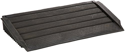 New Pig Polyethylene Ramp, 1000 lbs Load Capacity UDL, 25-1/2'' Length x 48'' Width, Black, For Poly Containment Storage Sheds, PAK755 by New Pig Corporation