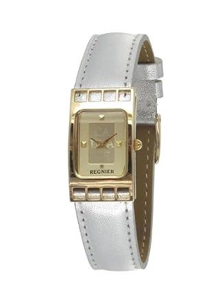 Regnier Damen-Armbanduhr Cadrage Analog Quarz 2072022