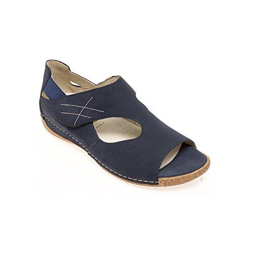 Waldlaufer - Sandalias de vestir para mujer JEANS NUB