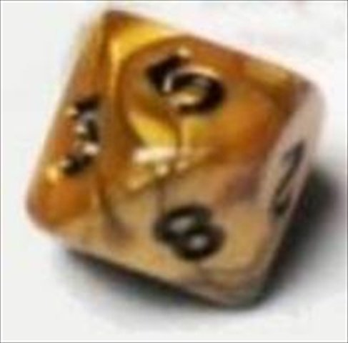 10D10 Dice Set, Olympic gold by Lion Rampant Imports Ltd
