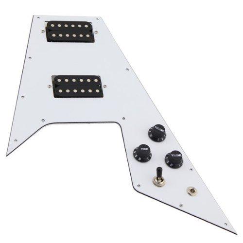 electric flying v guitar - 6