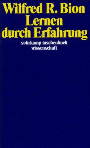 Lernen durch Erfahrung (suhrkamp taschenbuch wissenschaft)