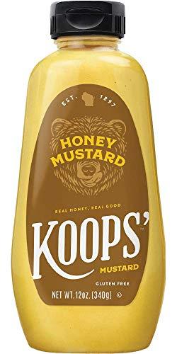 Koops' Honey Mustard, 12 oz. Bottle, 4 Pack