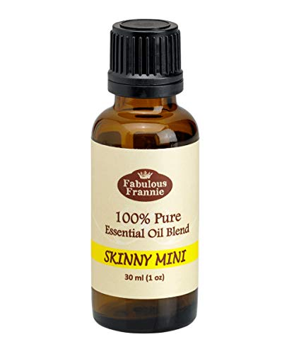 Fabulous Frannie 30ml 100% Pure Essential Oil Blend Skinny Mini made with Lemon, Grapefruit, Peppermint, Ginger & Cinnamon Bark Essential Oils.