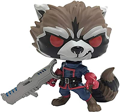 Funko Pop! Marvel: Guardians of The Galaxy - Comic Rocket Raccoon Classic PX Exclusive Vinyl Figure (Bundled with Pop Box Protector Case)