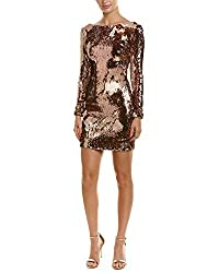 Lola Long Sleeve Sequin Dress