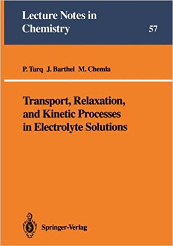 Transport, Relaxation, and Kinetic Processes in Electrolyte Solutions