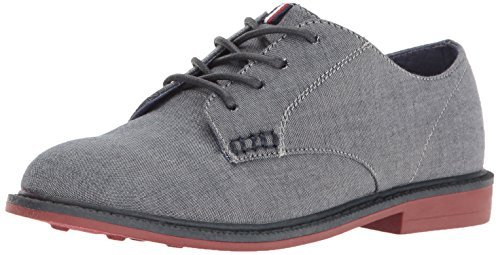 Image of Tommy Hilfiger Kids Boys' Michael Lace Sneaker, Chambray, 3 M US Little Kid