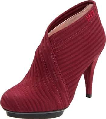United Nude Women's Fold Deluxe Ankle Boot,Bordeaux,36 EU/6 M US