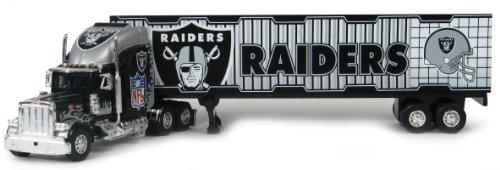NFL 2005 Die-cast Tractor Trailer NFL Team: Oakland (2005 Nfl Peterbilt Tractor Trailer)