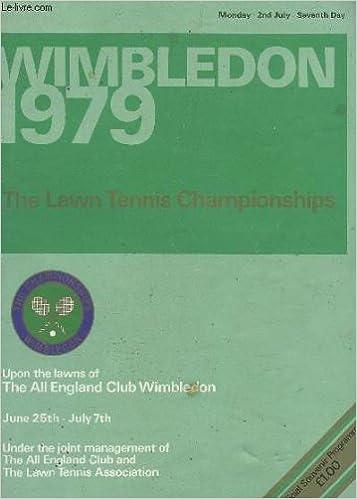 Télécharger Des Livres Gratuitement En Pdf Wimbledon 1979 The Lawn