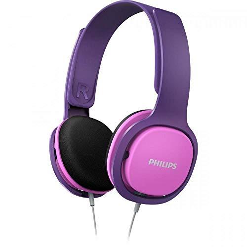 Philips Audio SHK2000PK/00 Hoofdtelefoon voor Kinderen, On-Ear (Geluidsisolatie, Volumebeperking, Ergonomische Beugel…