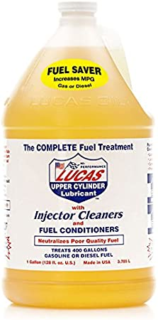 051-599 Lucas Oil Fuel Injector Cleaner 4 bottles 1 gallon each=total 4 gallons!