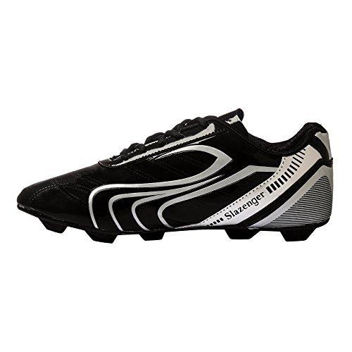 Football Shoes - 6UK (Black / Silver