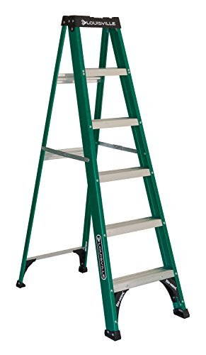 Louisville Ladder FS4006 225-Pound 6-Foot Fiberglass Step Ladder by Louisville -